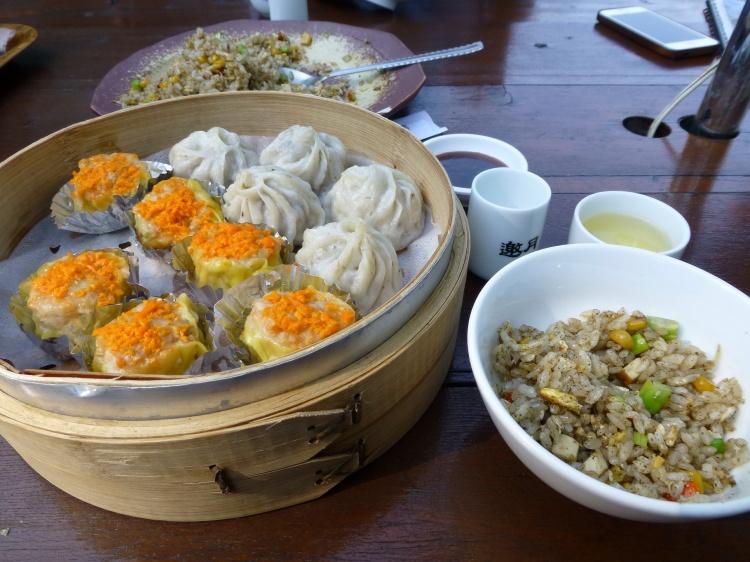Dim sum at Yao Yuen tea house in Maokong
