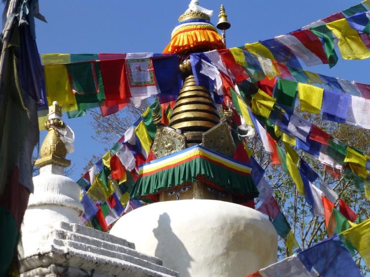 The Namo Buddha stupa