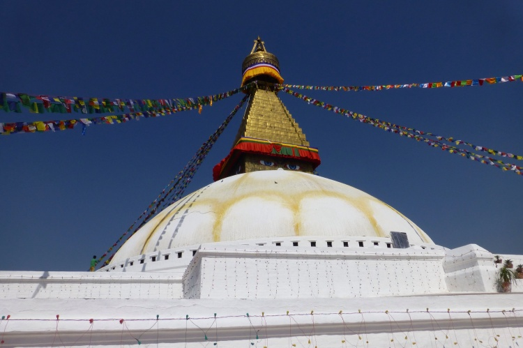 The Boudha Stupa, Asia's largest