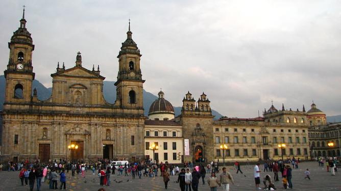 Plaza de Simon Bolivar