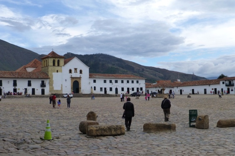 Villa de Leyva plaza mayor (town square)